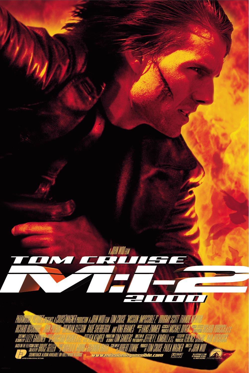 a review of the movie mission impossible ii Mission: impossible was a fast paced espionage thriller that actually made you think, which is what i like in a movie since john woo, who is one of the kings of the action genre, took over for brian de palma, you can expect mission: impossible ii to be an intense action movie with a majorly dumbed down plot.