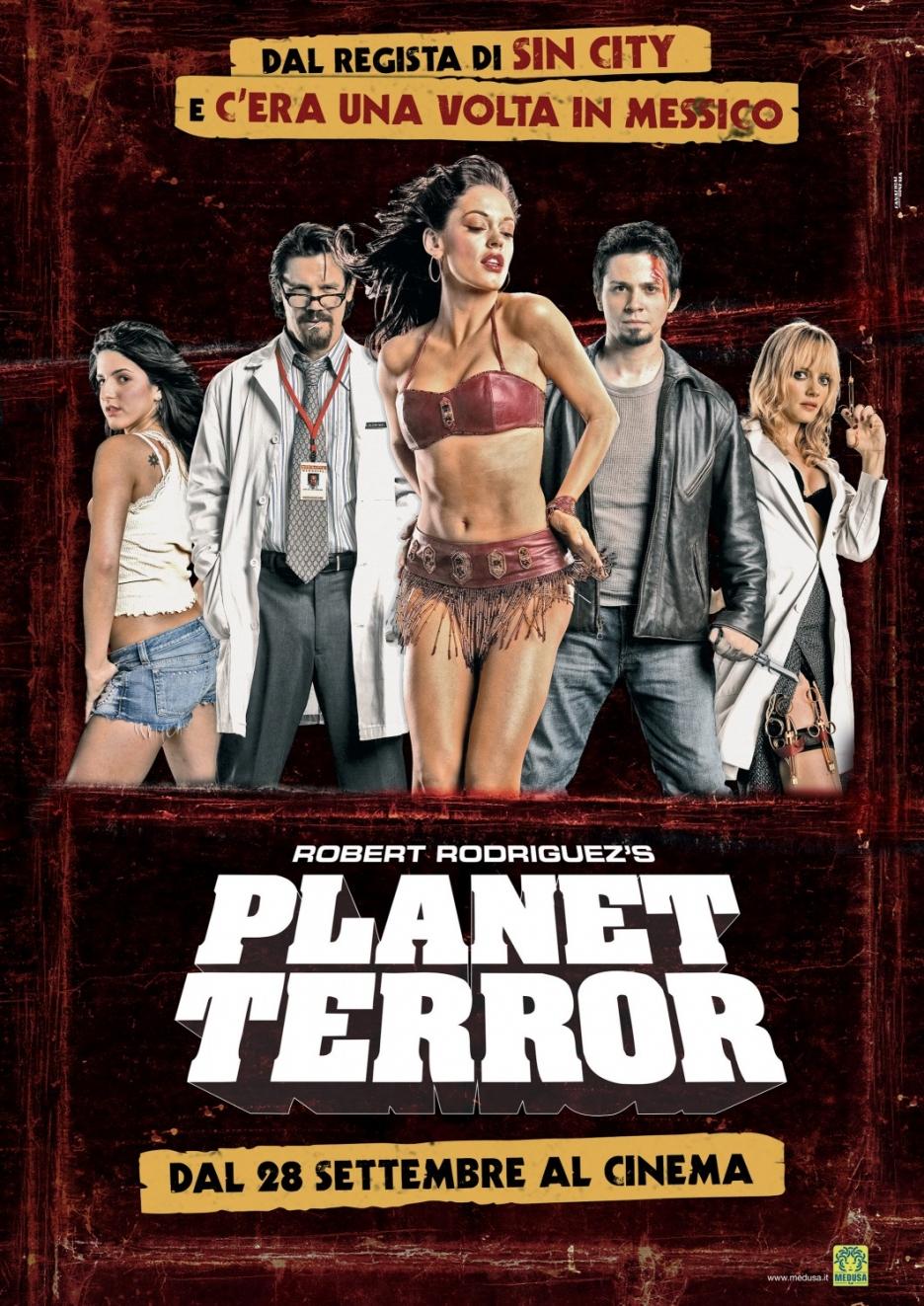 Кадры из фильма «Планета Страха» / 2007