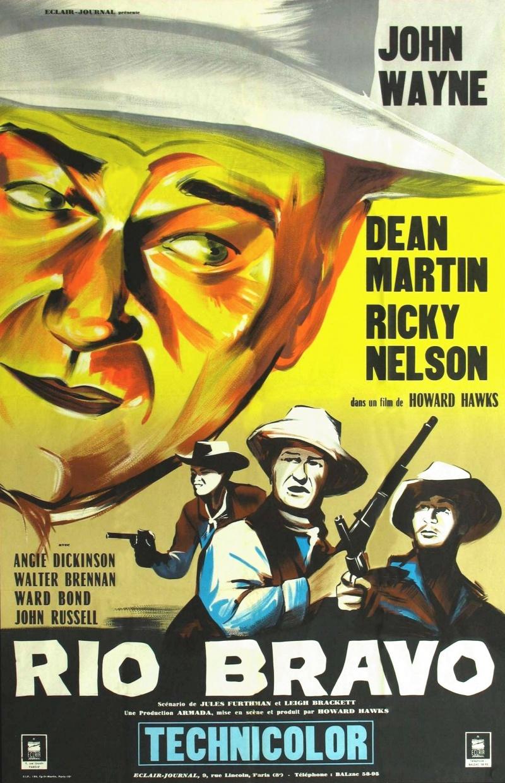 John wayne rio bravo movie poster