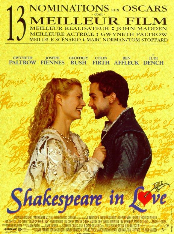 theme in shakespeare in love