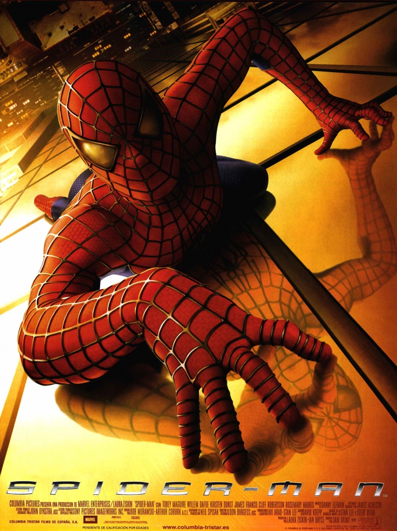 Человек паук 1 часть