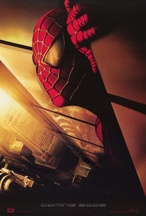 Spider man movie poster