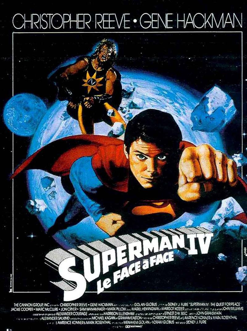 Супермен 4: В поисках мира (1987) - смотреть онлайн
