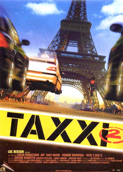 такси 2 актеры фильма