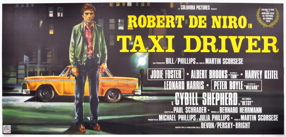 a review of taxi driver a film by martin scorsese Martin scorsese received the honorary carrosse d'or award at the 50th directors' fortnight, which also screened a restoration of mean streets continue reading → the first cut is the deepest: a tribute to anne v coates.