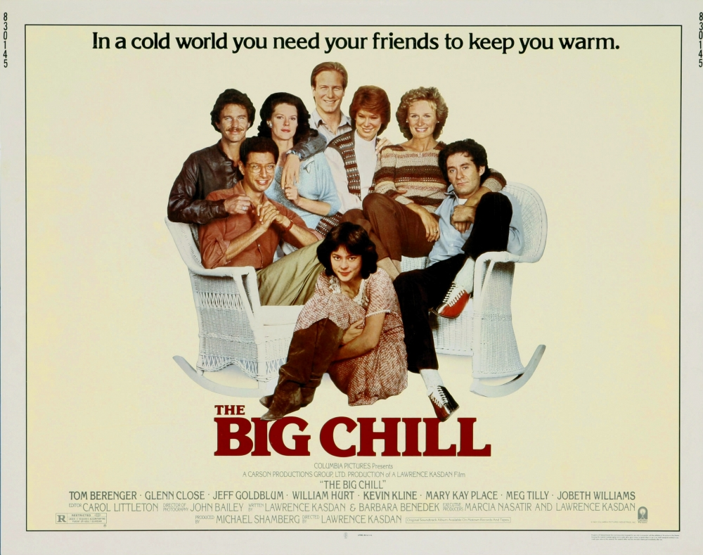 an analysis of the movie the big chill by lawrence kasdan The big chill directed by: lawrence kasdan starring: glenn close, jobeth williams, meg tilly, mary kay place, tom berenger, william hurt, jeff goldblum, kevin kline genres: drama rated the #83 best film of 1983, and #6996 in the greatest all-time movies (according to rym users.