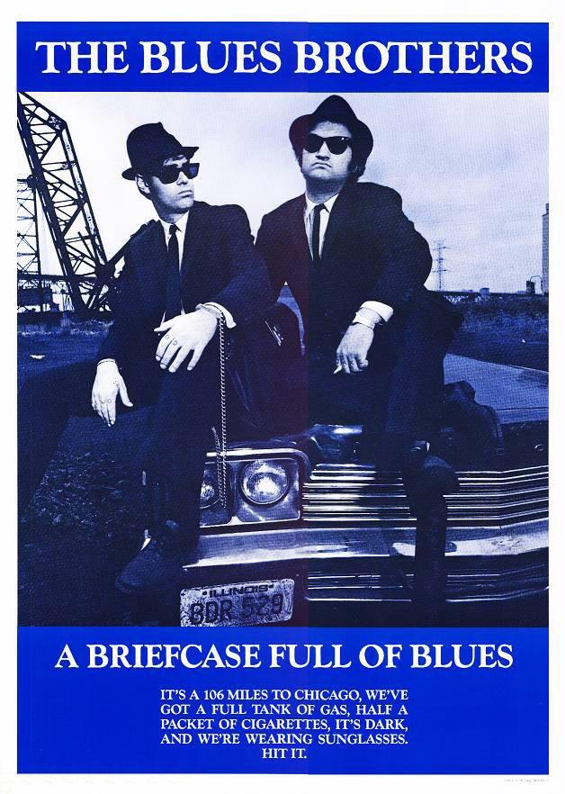 Братья блюз постеры