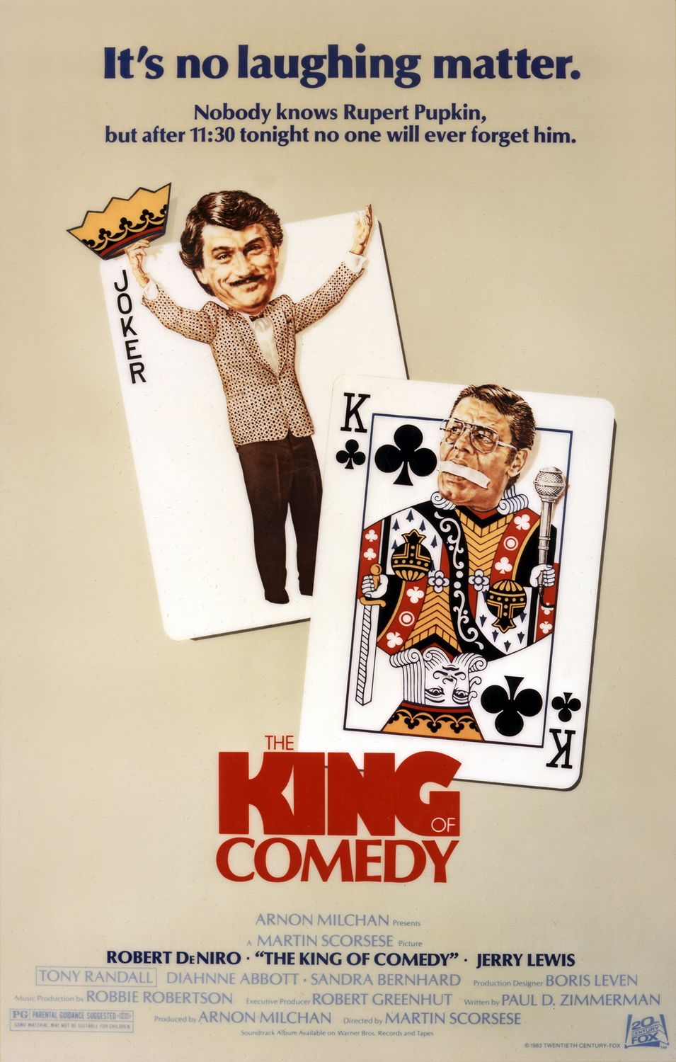 the king of comedy Check out the exclusive tvguidecom movie review and see our movie rating for the king of comedy.