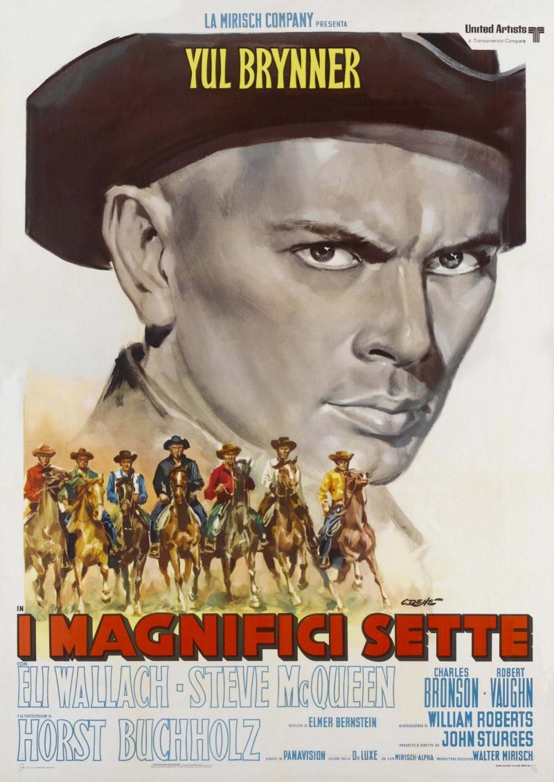 великолепная семерка фильм 1960