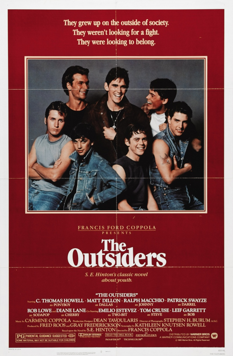 the idea of social class in the novel the outsiders by se hinton