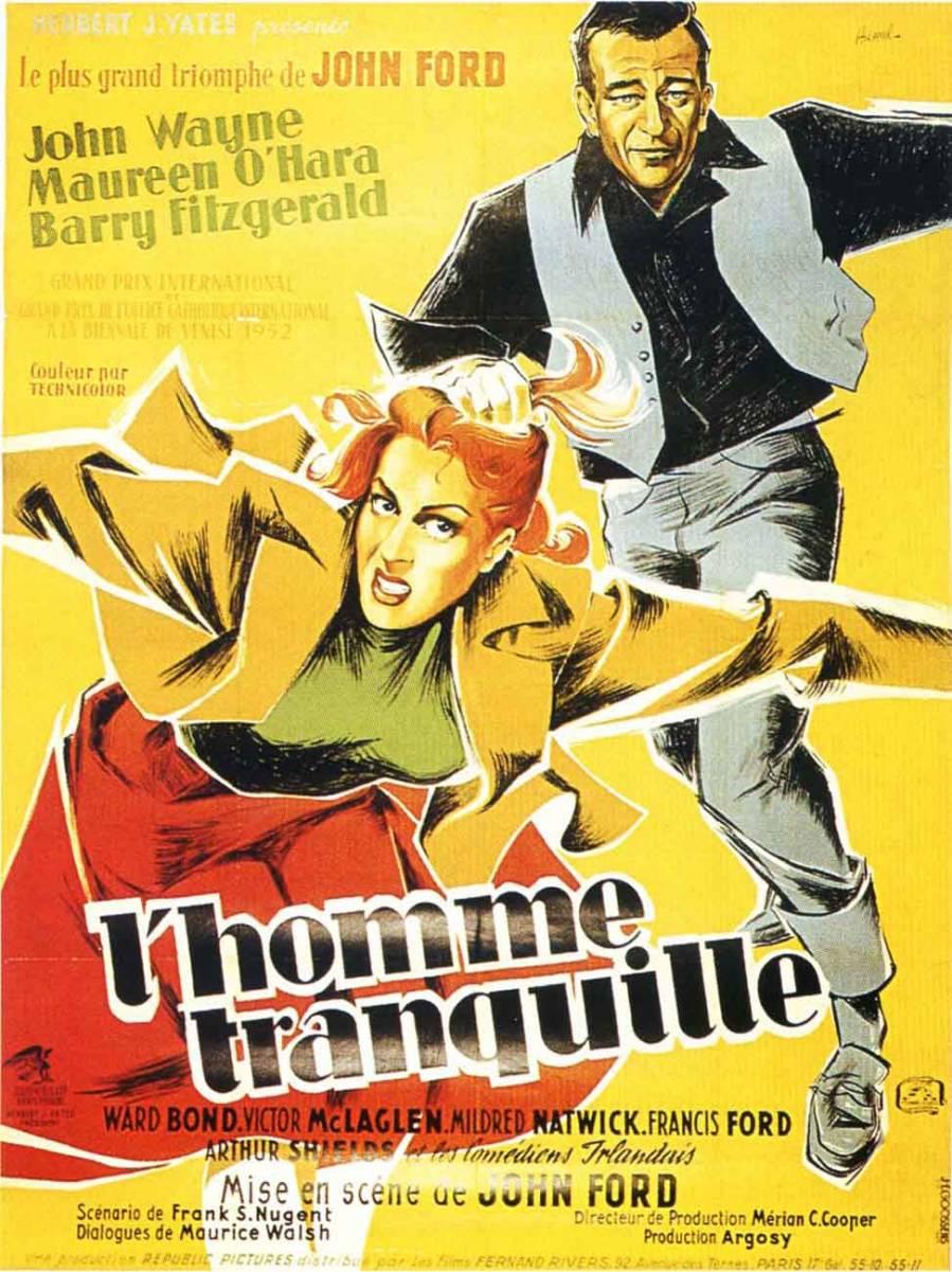The quiet man original movie poster