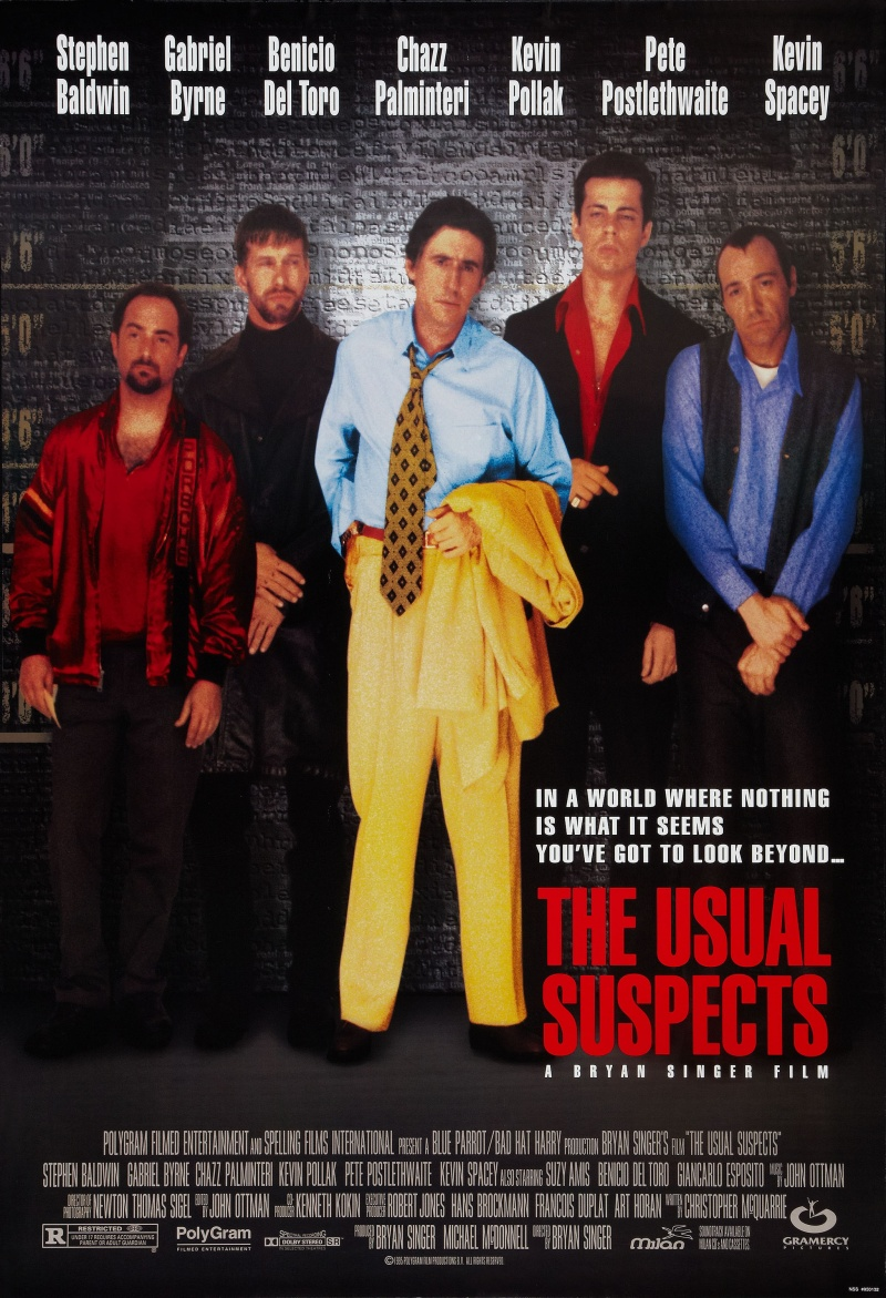 the use of cinematic techniques in the usual suspects a film by bryan singer