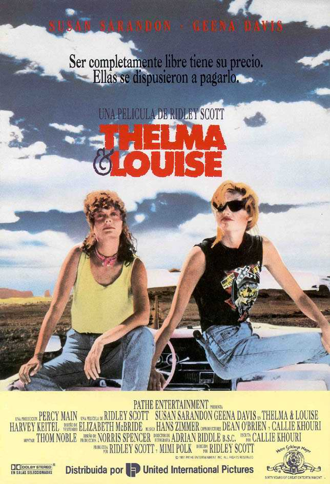 an analysis of the movie thelma and louise by callie khouri