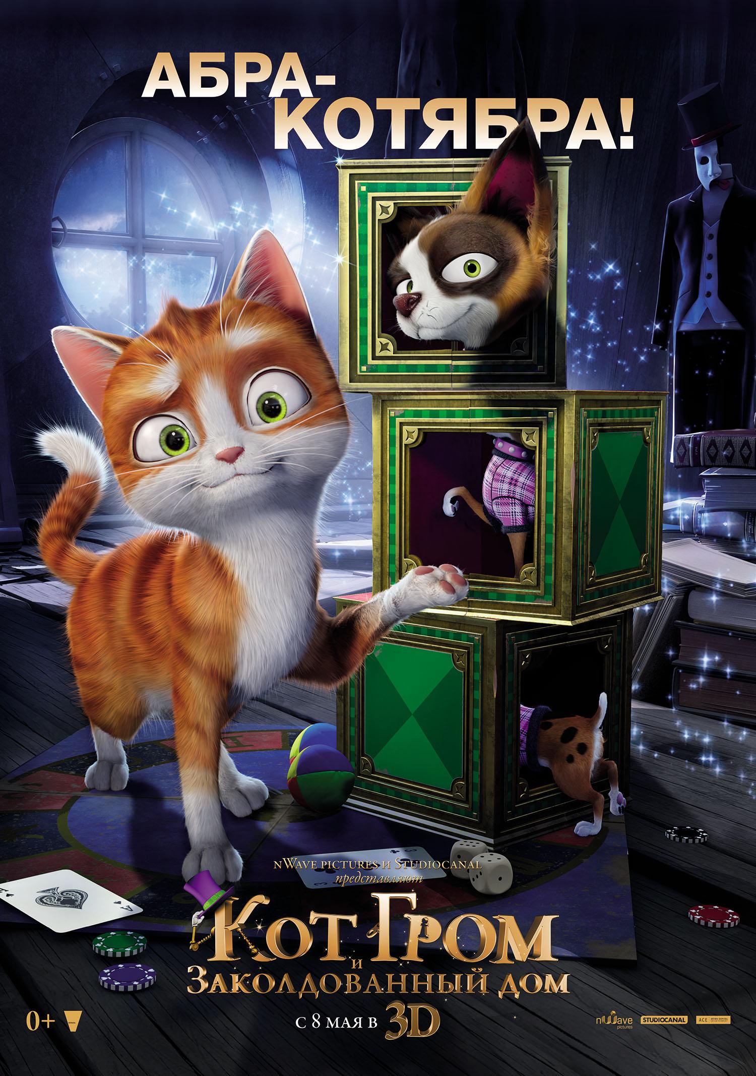 Кот гром 4