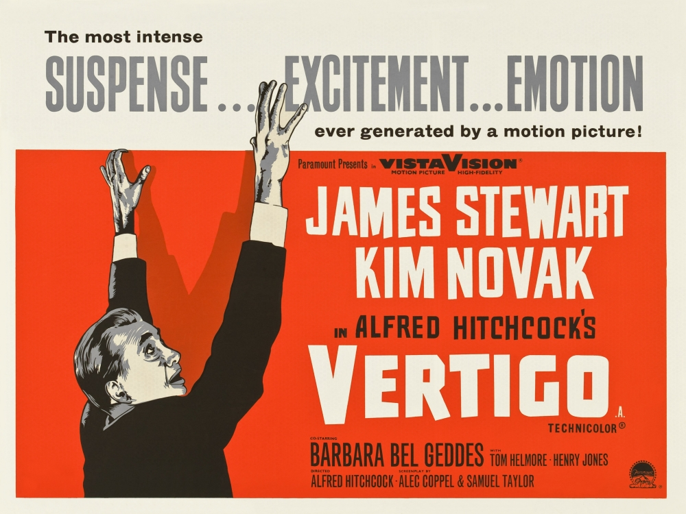 vertigo hitchcock Keen to potentially acquire the film rights to any future boileau-narcejac stories, paramount sourced their 1954 novel d'entre les morts before it had been translated into english and, after reading the studio's outline, hitchcock instructed paramount to purchase the rights after negotiations, the.