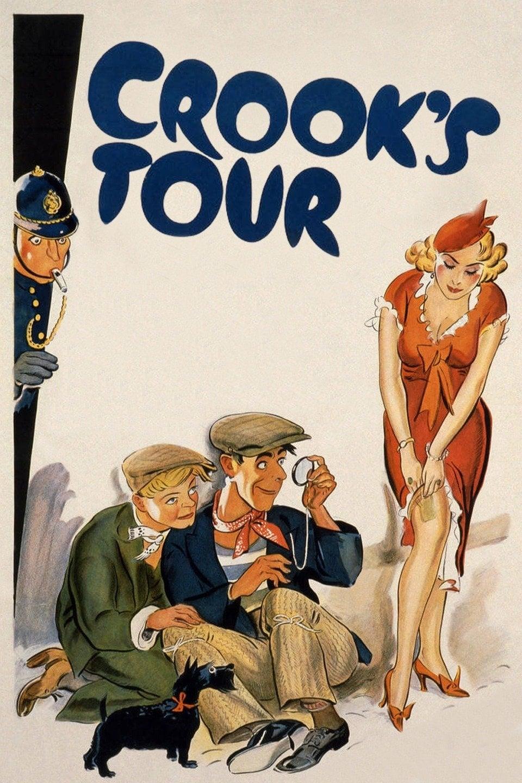 Crook's Tour (1940) UK poster