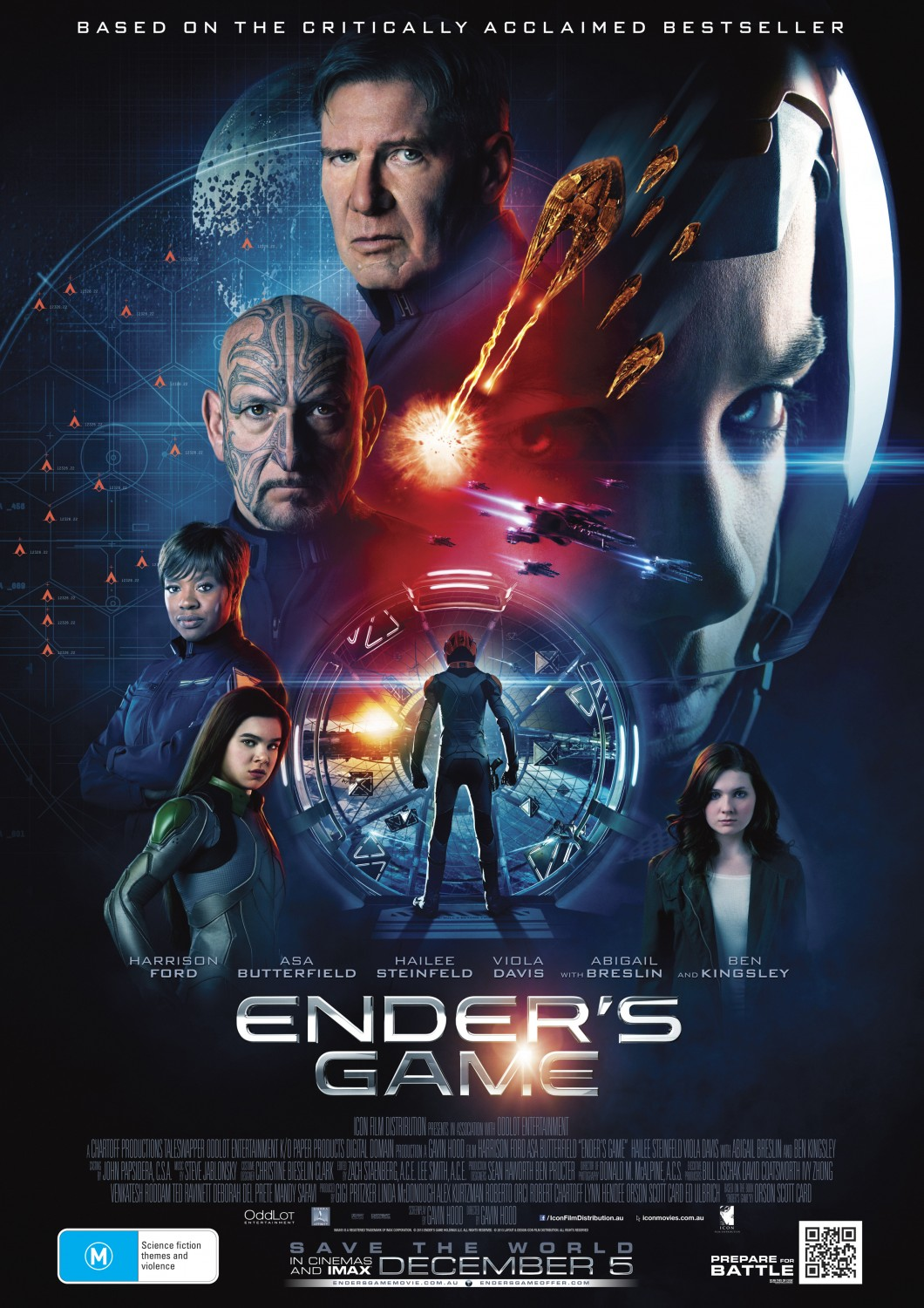 the strengths and weaknesses of humans as portrayed in the fiction enders game That cinematic melange shows both its strengths a fun science fiction movie some will enjoy ender's game for the cinema siren cinema siren ender's-game.