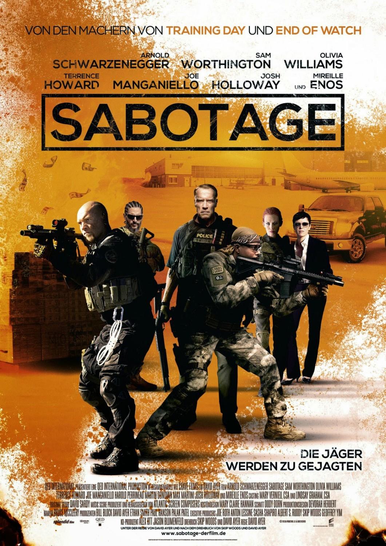 Sabotage movie