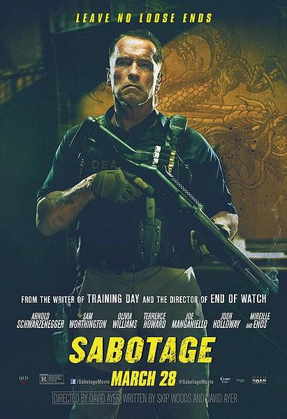 Постер 10 из 13 из фильма саботаж sabotage