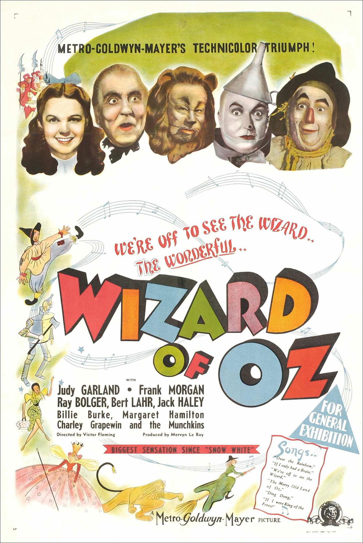 Постер (1) к фильму Волшебник страны Оз (The Wizard of Oz, 1939)