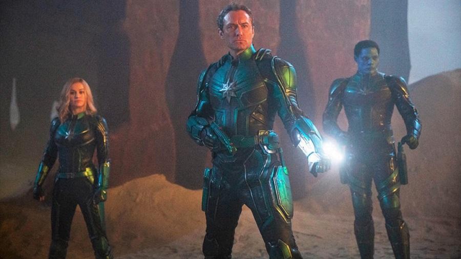 Скруллы, Старфорс и Джуд Лоу: свежие кадры из «Капитана Марвел»