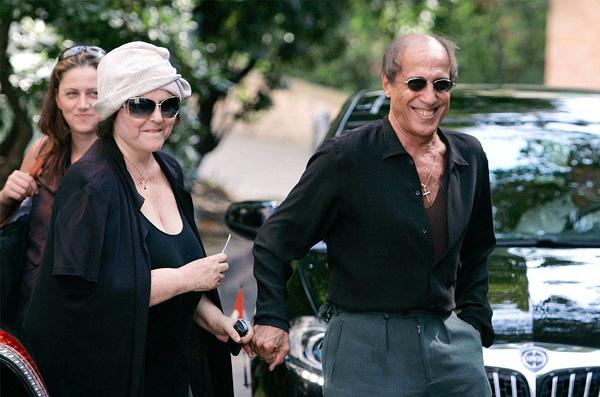 Адриано Челентано и его жена Клаудиа Мори . Фото 12. Фоторепортаж. Кино на Фильм.Ру