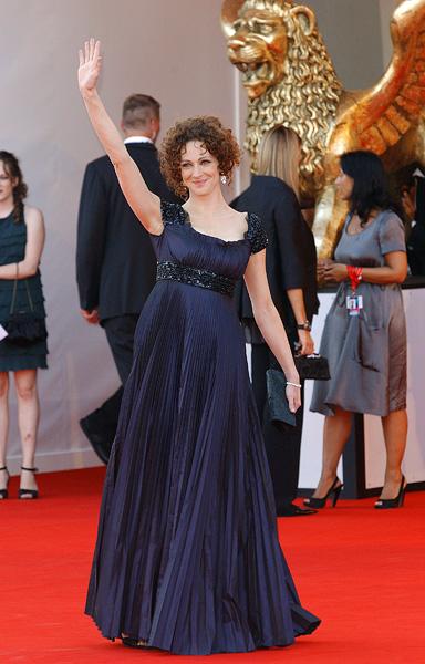Российская актриса и ведущая церемонии открытия фестиваля Ксения Раппопорт