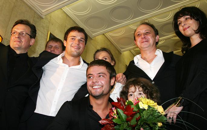 Фото семье данила козловский