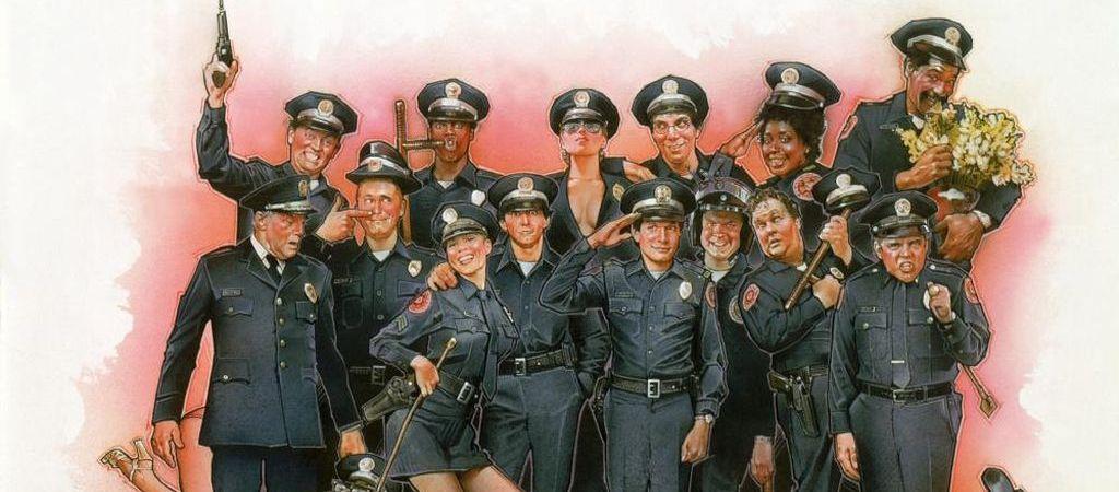 Порно фильмы полицейская академия, порно руками и ртом