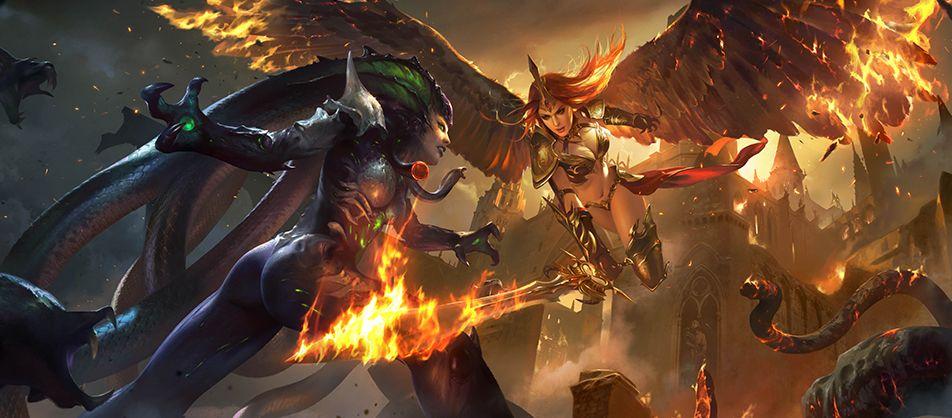 На чьей стороне ты в сражениях «Лиги ангелов II»?