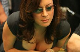 10 famous actors and actresses, known as poker players