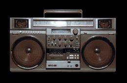 Famous ghettoblastery 1980-x