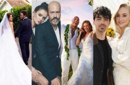 7 главных звездных свадеб 2019 года