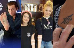 Актеры, сделавшие татуировки в честь своих известных ролей