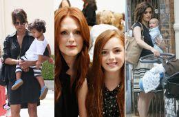 Актрисы, которые стали мамами после 40