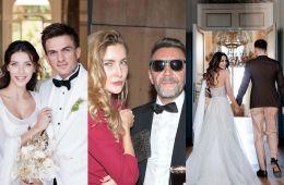 Российские знаменитости, которые вступили в брак в 2019 году