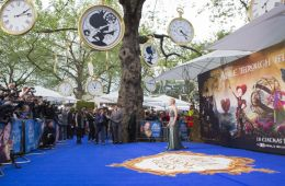 """Photo-report: European premiere of the Disney film """"Alice in the Looking-Glass"""""""