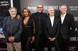 "Photo-report: Premiere of the film ""Independence Day: Renaissance"" in Los Angeles"
