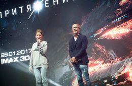 Фоторепортаж: Федор Бондарчук и Ирина Старшенбаум представили «Притяжение» на Comic Con Russia 2016