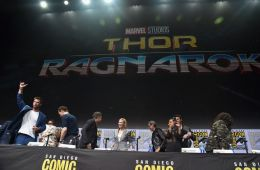 "Photo-report: Presentations of MARVEL films ""Thor: Ragnarok"" and ""Black Panther"" at the international pop culture festival Comic Con"
