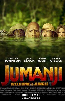 "Постер к фильму ""Джуманджи: Зов джунглей"" /Jumanji: Welcome to the Jungle/ (2017)"