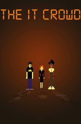 "Постер к фильму ""Компьютерщики"" /The IT Crowd/ (2006)"