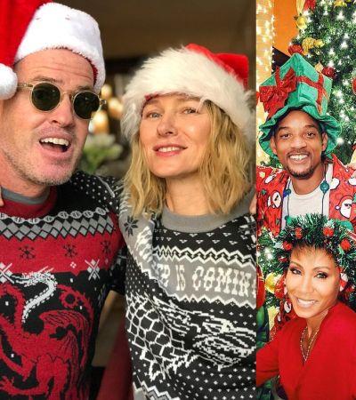 Новогодний фотоальбом: Как голливудские знаменитости провели праздники