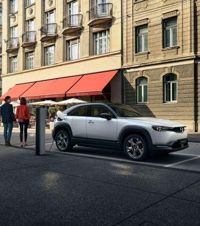 MAZDA MX-30 – экологичный электромобиль для водителя
