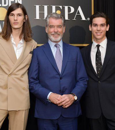Сыновья Пирса Броснана стали амбассадорами «Золотого глобуса»