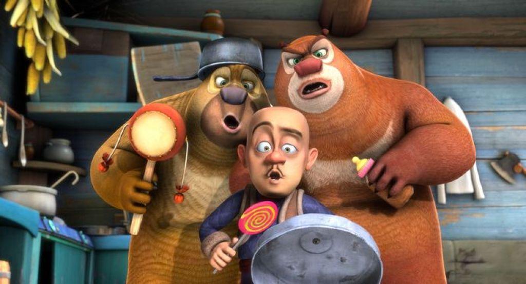 Медведи соседи мультсериал