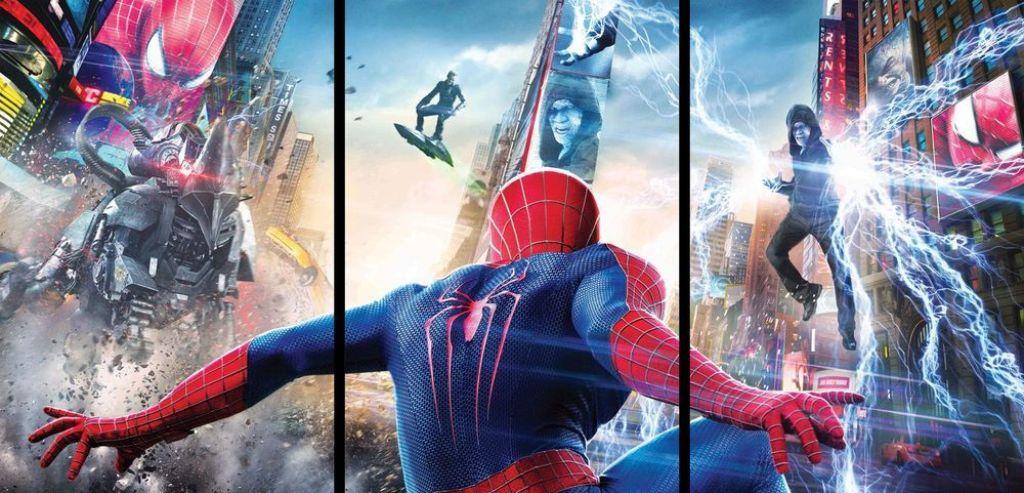 Враги в новый человек паук высокое напряжение эвелина бледанс фото с родителями