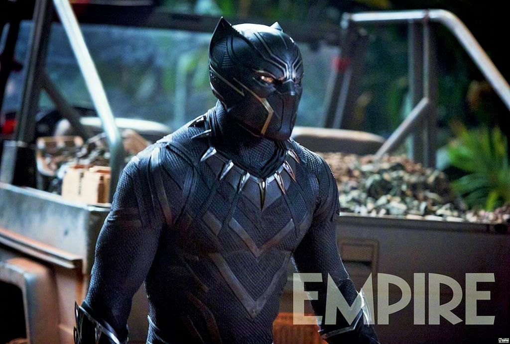 Промоарт блокбастера «Чёрная Пантера» из вселенной Marvel