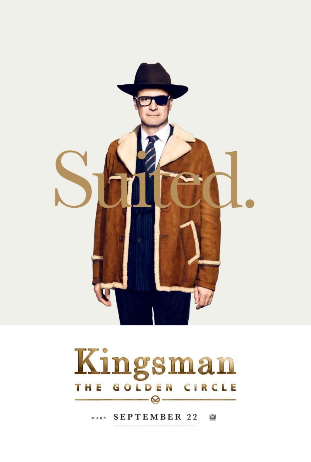 Новый постер кинокомикса «Kingsman: Золотое кольцо»
