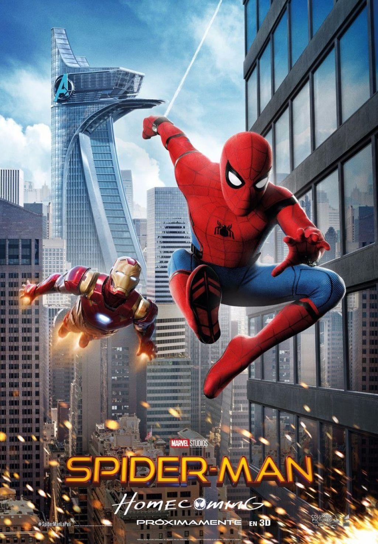 Промо-постеры экшена «Человек-паук: Возвращение домой»
